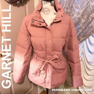 Garnet Hill Jackets & Coats - 🆕 SALE! Garnet Hill Belted Down Jacket Puffer